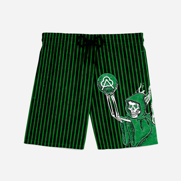 Sporty Short Green Reaper Away