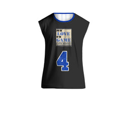 For The Love Reversible Jersey Black on Blue