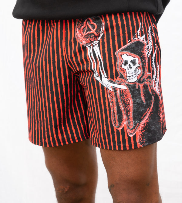 Sporty Short Red Reaper Away