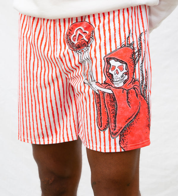 Sporty Short Red Reaper Home