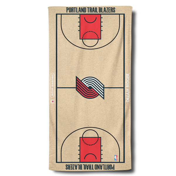 Blazers Beach Towel