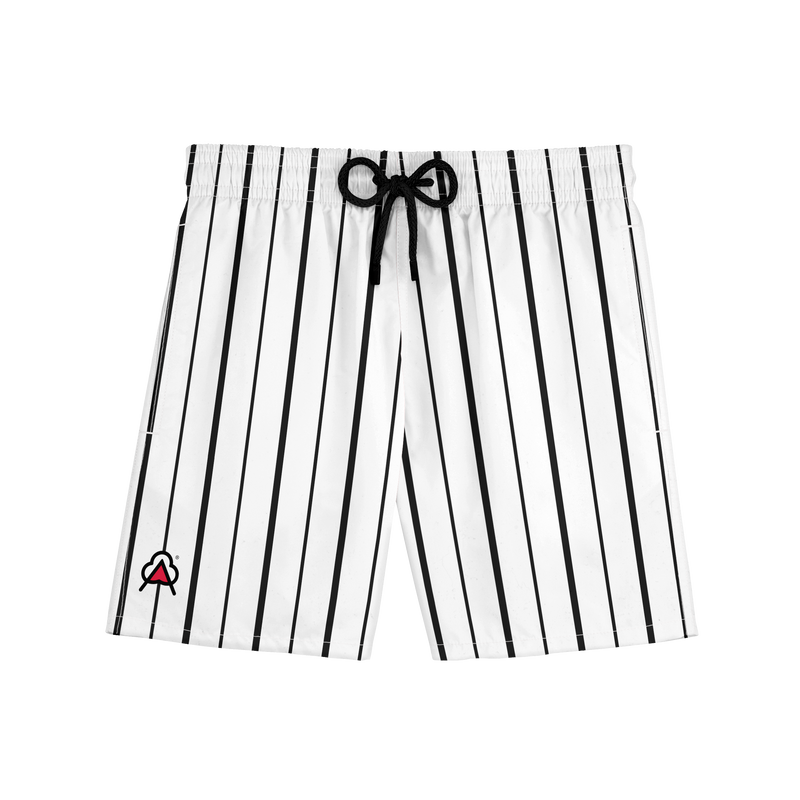 AD Black/White Sport Short