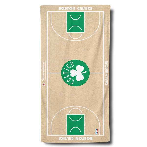 Celtics Beach Towel