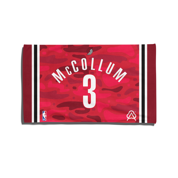 C. J. McCollum Player Towel