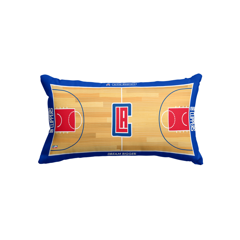 Los Angeles Clippers Lumbar Pillow
