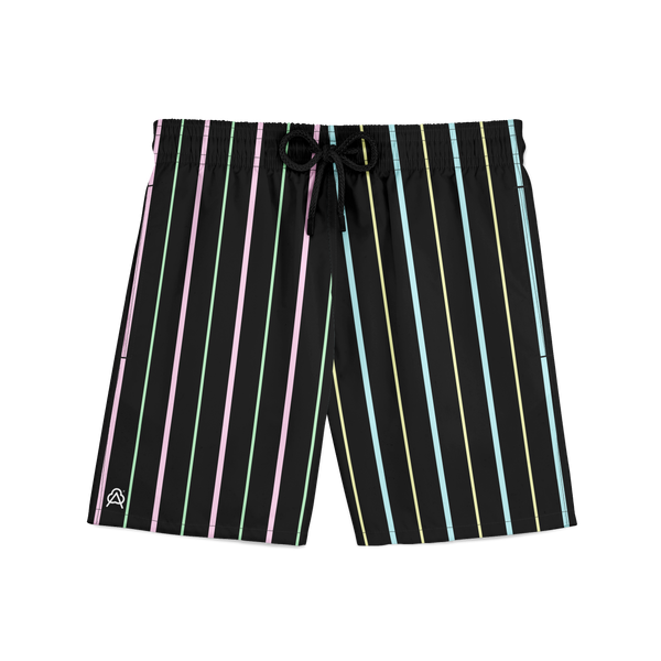Easter Black Sport Shorts