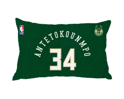 Giannis Antetokounmpo Pillow Case Number