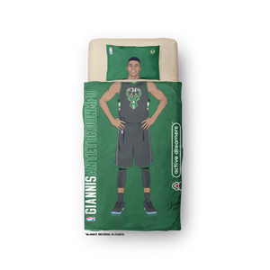 "Giannis Antetokounmpo ""Signature Series"" Blanket"