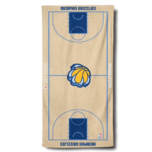 Grizzlies Beach Towel
