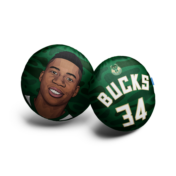 Giannis Antetokounmpo Pillow Head