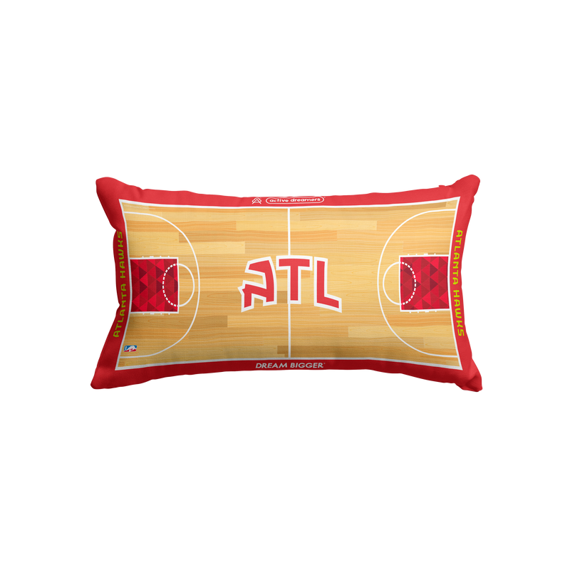 Atlanta Hawks Lumbar Pillow
