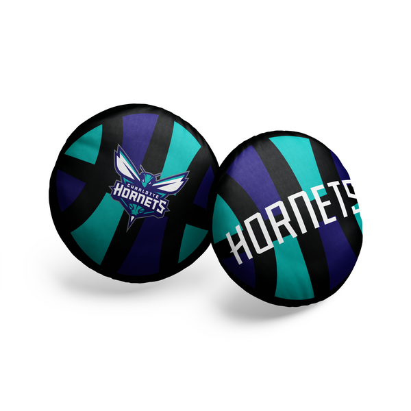 Charlotte Hornets Pillow Ball