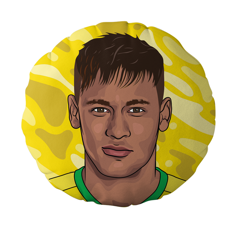 Neymar Jr Pillow Head