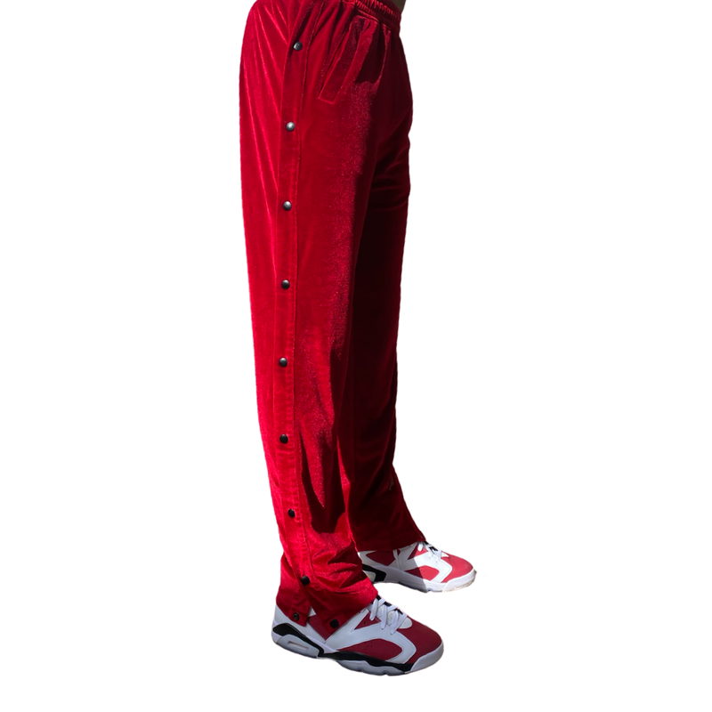 Velvet Snap Basketball Pant