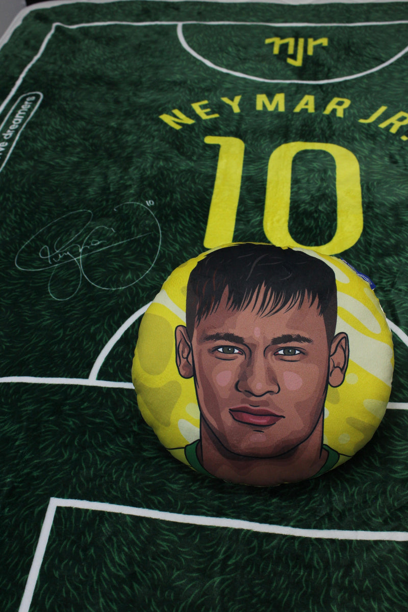 Neymar Jr Throw Blanket