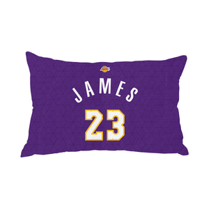 Lebron James Lakers Pillow Case Number
