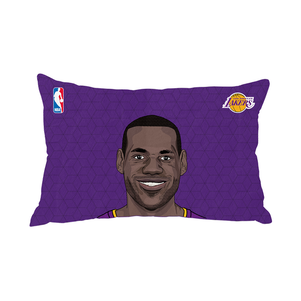 Lebron James Lakers Pillow Case Face