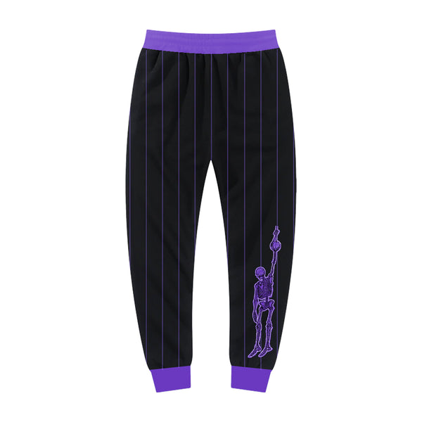 Black and Purple Sport Jogger