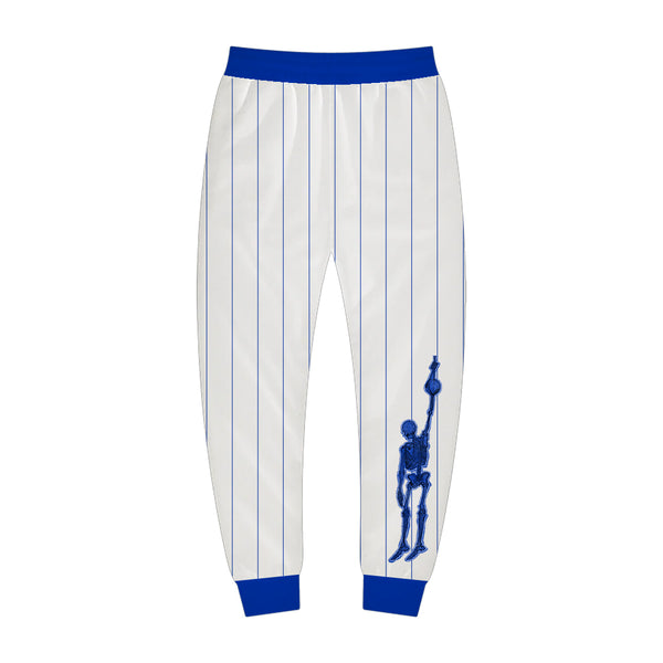White and Blue Sport Jogger
