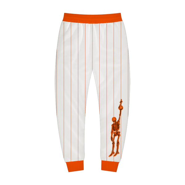 White and Orange Sport Jogger
