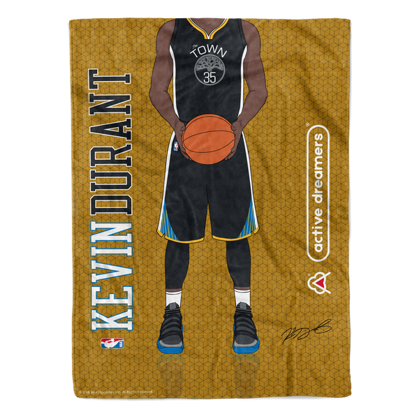 "Kevin Durant ""Signature Series"" Blanket"