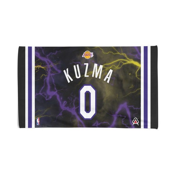 Limited Edition Kyle Kuzma Lightning Player Towel