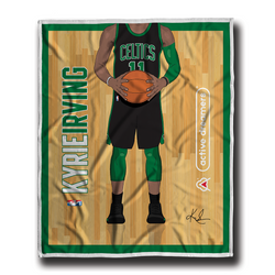 "Kyrie Irving ""Signature Series"" Blanket"