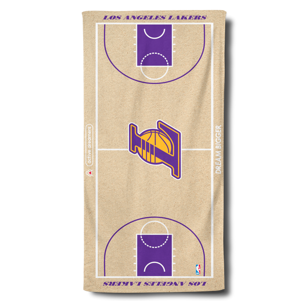 Lakers Beach Towel