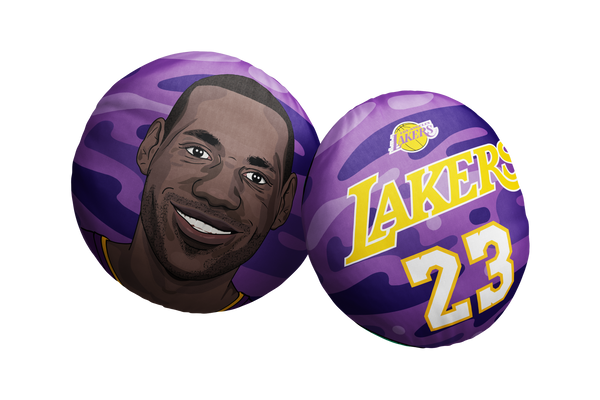 Lebron James Lakers Pillow Head