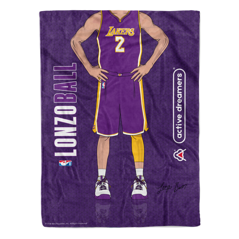 "Lonzo Ball ""Signature Series"" Blanket"