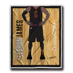 "Lebron James ""Signature Series"" Blanket"