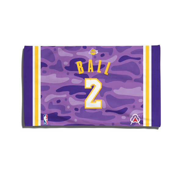 Lonzo Ball Player Towel