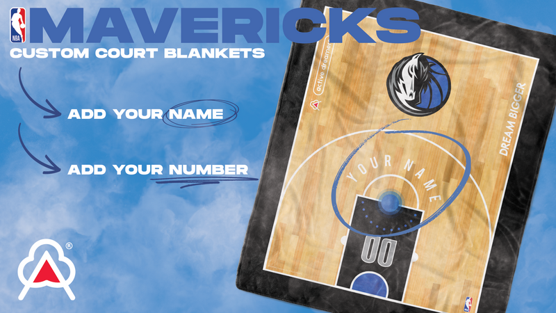 Custom Dallas Mavericks Blanket