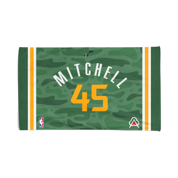 Donovan Mitchell Player Towel