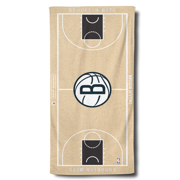 Nets Beach Towel