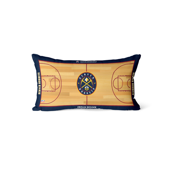 Denver Nuggets Lumbar Pillow