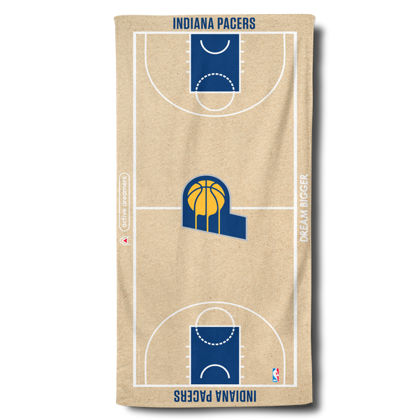Pacers Beach Towel