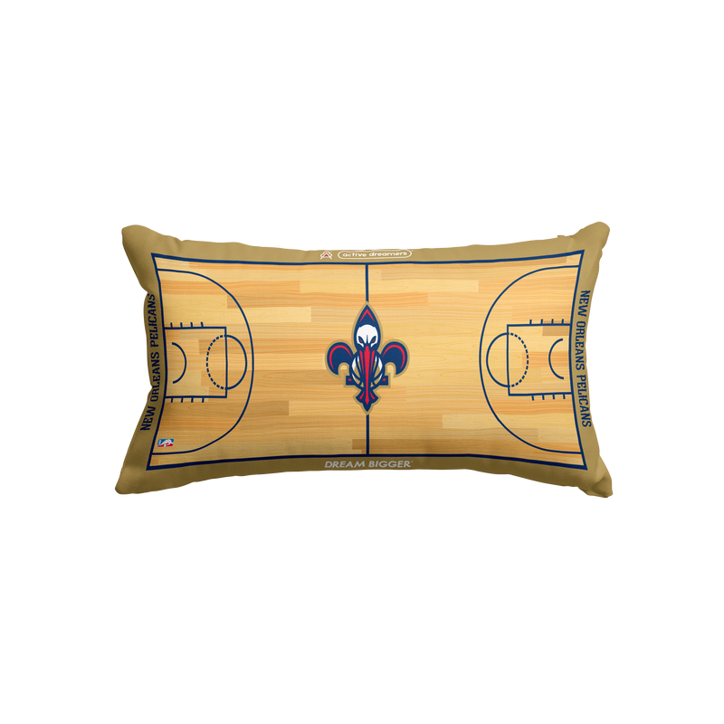 New Orleans Pelicans Lumbar Pillow