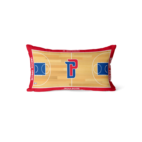 Detroit Pistons Lumbar Pillow