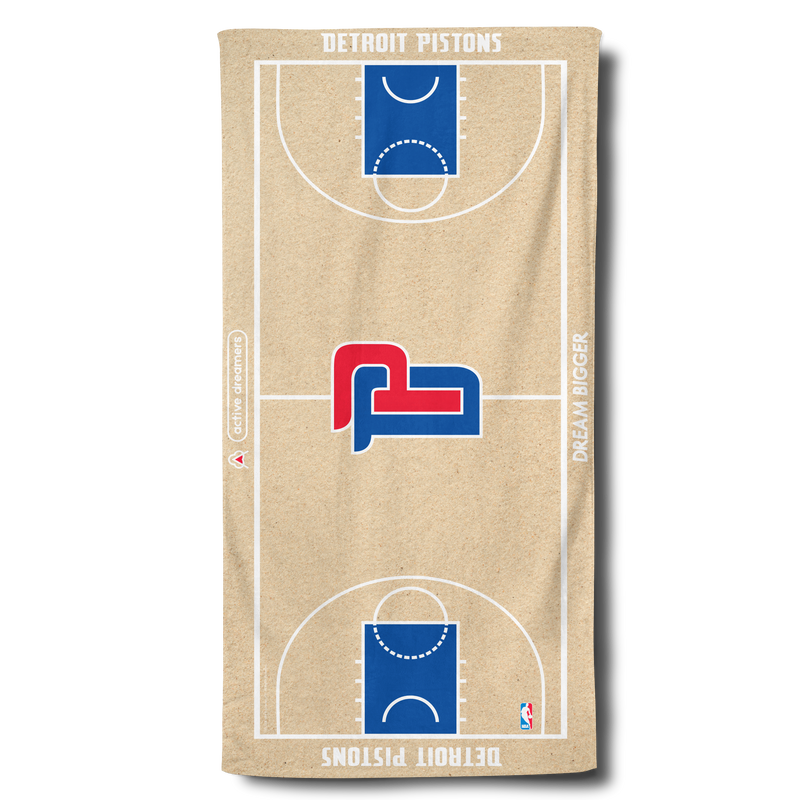Pistons Beach Towel