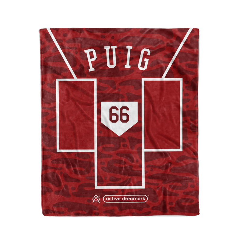 Yasiel Puig Batters Box Blanket