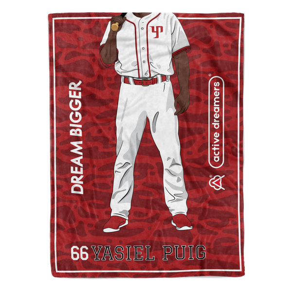 Yasiel Puig Dream Blanket