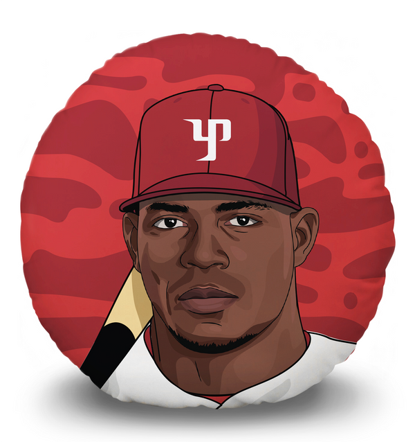 Yasiel Puig Pillow Head (realistic)
