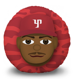 Yasiel Puig Pillow Head (cartoon)