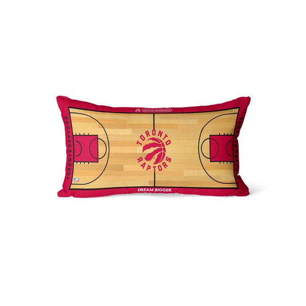 Toronto Raptors Lumbar Pillow