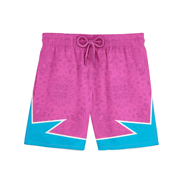 South Beach Paisley Trunks