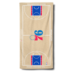 Sixers Beach Towel