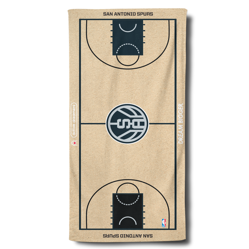 Spurs Beach Towel