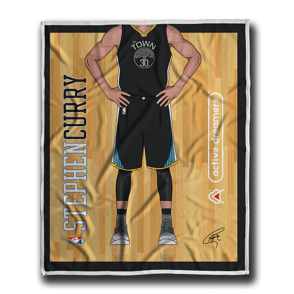 "Stephen Curry ""Signature Series"" Blanket"