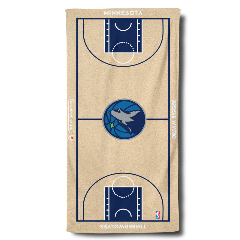 Timberwolves Beach Towel